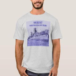 HMS Belfast Sketch T-Shirt