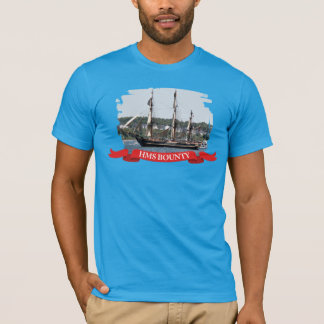 HMS Bounty Tall Ship Photo T-shirt