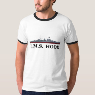 HMS Hood T Shirts