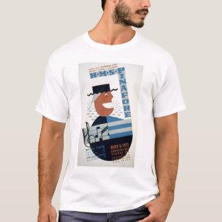 HMS Pinafore Musical 1939 WPA T-Shirt
