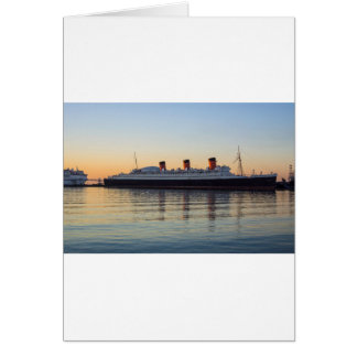 HMS Queen Mary Card