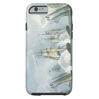 HMS Sirius Captain Rowse engaging a French Squadr iPhone 6 Case
