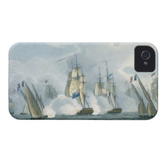 HMS Sirius, Captain Rowse engaging a French Squadr Case-Mate iPhone 4 Case