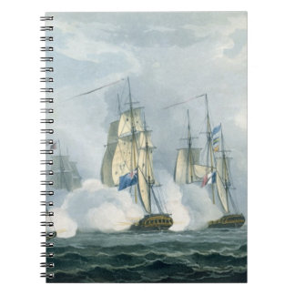 HMS Sirius, Captain Rowse engaging a French Squadr Journals