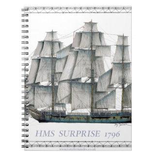 HMS Surprise 1796 Notebook