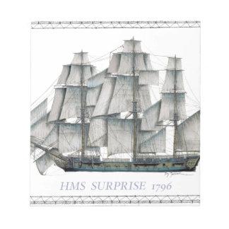 HMS Surprise 1796 Notepad