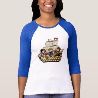 HMS Victory Puppies Tshirt