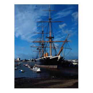"HMS Warrior"", Portsmouth, England Postcard"