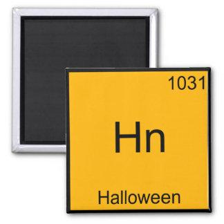 Hn - Halloween Funny Element Meme Chemistry Tee Magnet