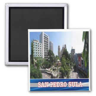 HN - Honduras - San Pedro Sula Magnet