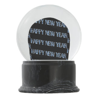 HNY-Blue Diamond Snow Globe
