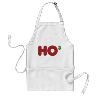 Ho 3 Nerdy Christmas Standard Apron
