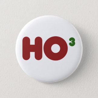 Ho 3 Nerdy funny christmas 6 Cm Round Badge