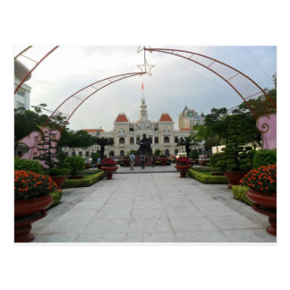 Ho Chi Minh City Hall, Vietnam Postcard
