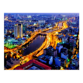 Ho Chi Minh City Postcard