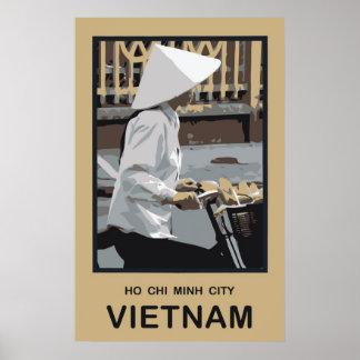 Ho Chi Minh City Vietnam Poster
