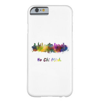 Ho Chi Minh skyline in watercolor Barely There iPhone 6 Case