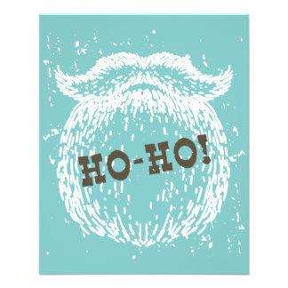 Ho-Ho Christmas Holiday Santa Noel 11.5 Cm X 14 Cm Flyer