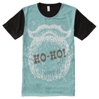 Ho-Ho Christmas Holiday Santa Noel All-Over Print T-Shirt