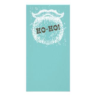 Ho-Ho Christmas Holiday Santa Noel Card