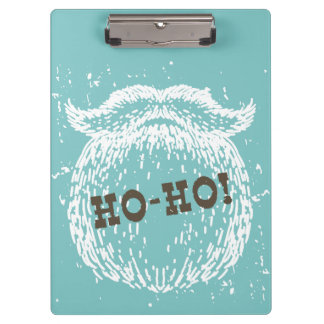 Ho-Ho Christmas Holiday Santa Noel Clipboards