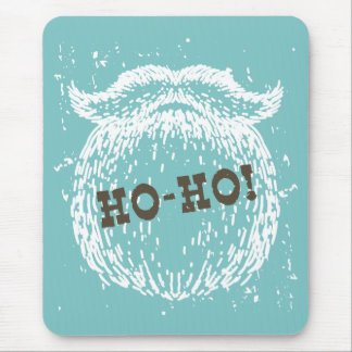 Ho-Ho Christmas Holiday Santa Noel Mouse Pad