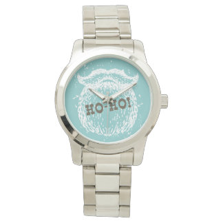 Ho-Ho Christmas Holiday Santa Noel Watch