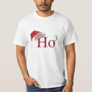 Ho Ho Ho 3 Christmas to the 3rd power Mens Tshirt