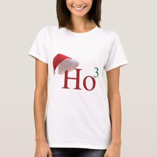 Ho Ho Ho 3 Merry Christmas to the 3rd power T-Shirt
