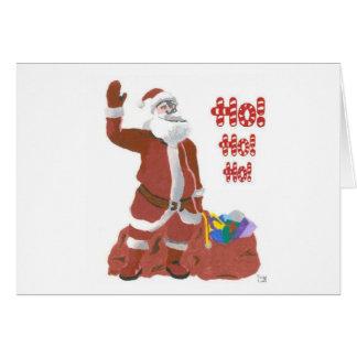 Ho Ho Ho! (alternate) Greeting Card