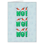 HO HO HO  by SHARON SHARPE Cards