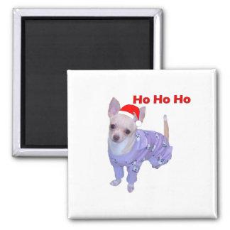 Ho Ho Ho (Chihuahua) Magnet