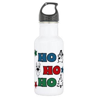 Ho-Ho-Ho Christmas design 532 Ml Water Bottle