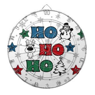 Ho-Ho-Ho Christmas design Dartboard