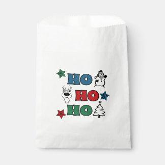 Ho-Ho-Ho Christmas design Favour Bag