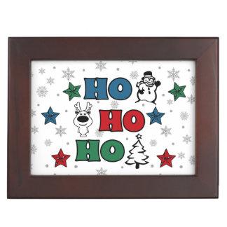 Ho-Ho-Ho Christmas design Keepsake Box