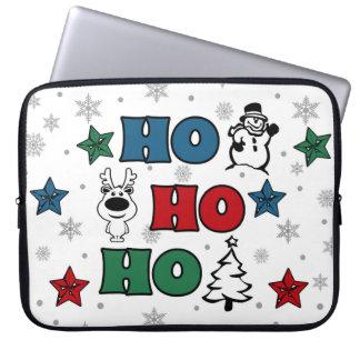 Ho-Ho-Ho Christmas design Laptop Sleeve