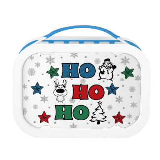 Ho-Ho-Ho Christmas design Lunch Box