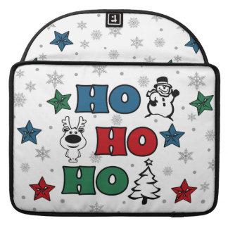 Ho-Ho-Ho Christmas design Sleeve For MacBooks