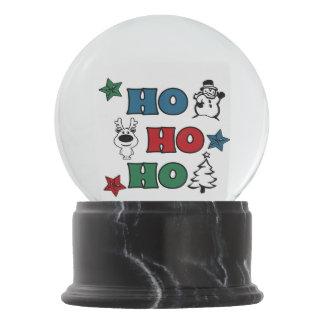 Ho-Ho-Ho Christmas design Snow Globe
