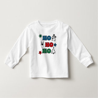 Ho-Ho-Ho Christmas design Toddler T-Shirt