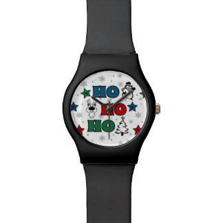 Ho-Ho-Ho Christmas design Watch