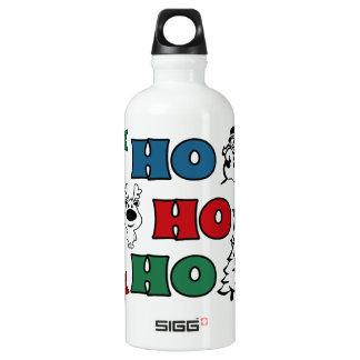 Ho-Ho-Ho Christmas design Water Bottle