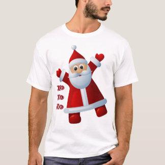 HO! HO! HO! Cute Santa Claus Merry Christmas T-Shirt