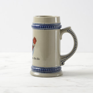 Ho Ho Ho Father Christmas/Santa Claus Tankard Beer Stein