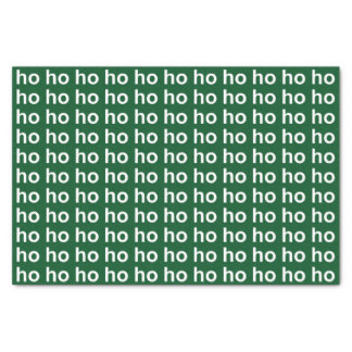 Ho Ho Ho Green Tissue Paper
