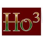 Ho ho ho? greeting card