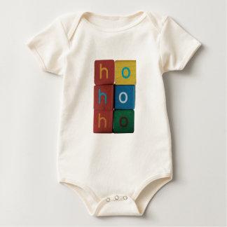 ho ho ho in kids blocks infant organic creeper