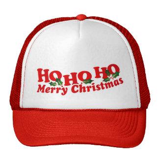 Ho Ho Ho Merry Christmas hat