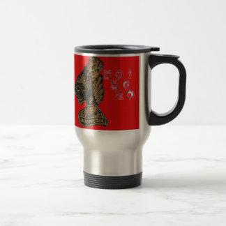 Ho Ho Ho! Merry Christmas Indonesia cute retro vin Travel Mug
